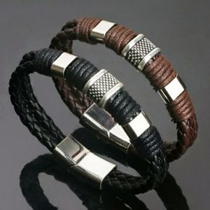 GENUINE  LEATHER UNISEX BRACELET
